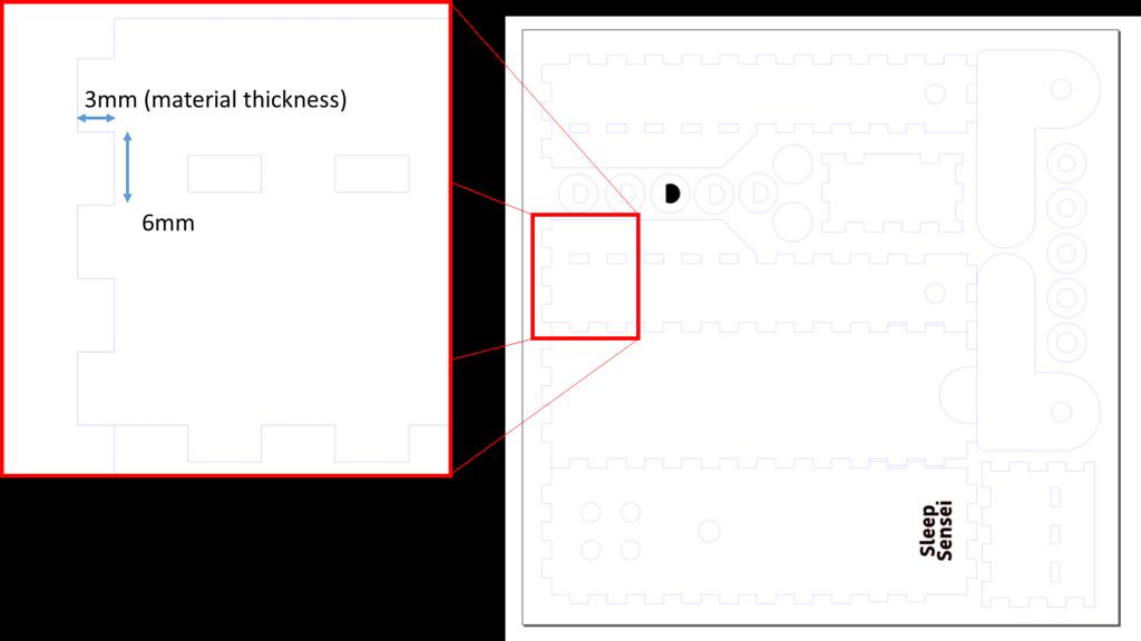 Lasercut Notch Size Largetext